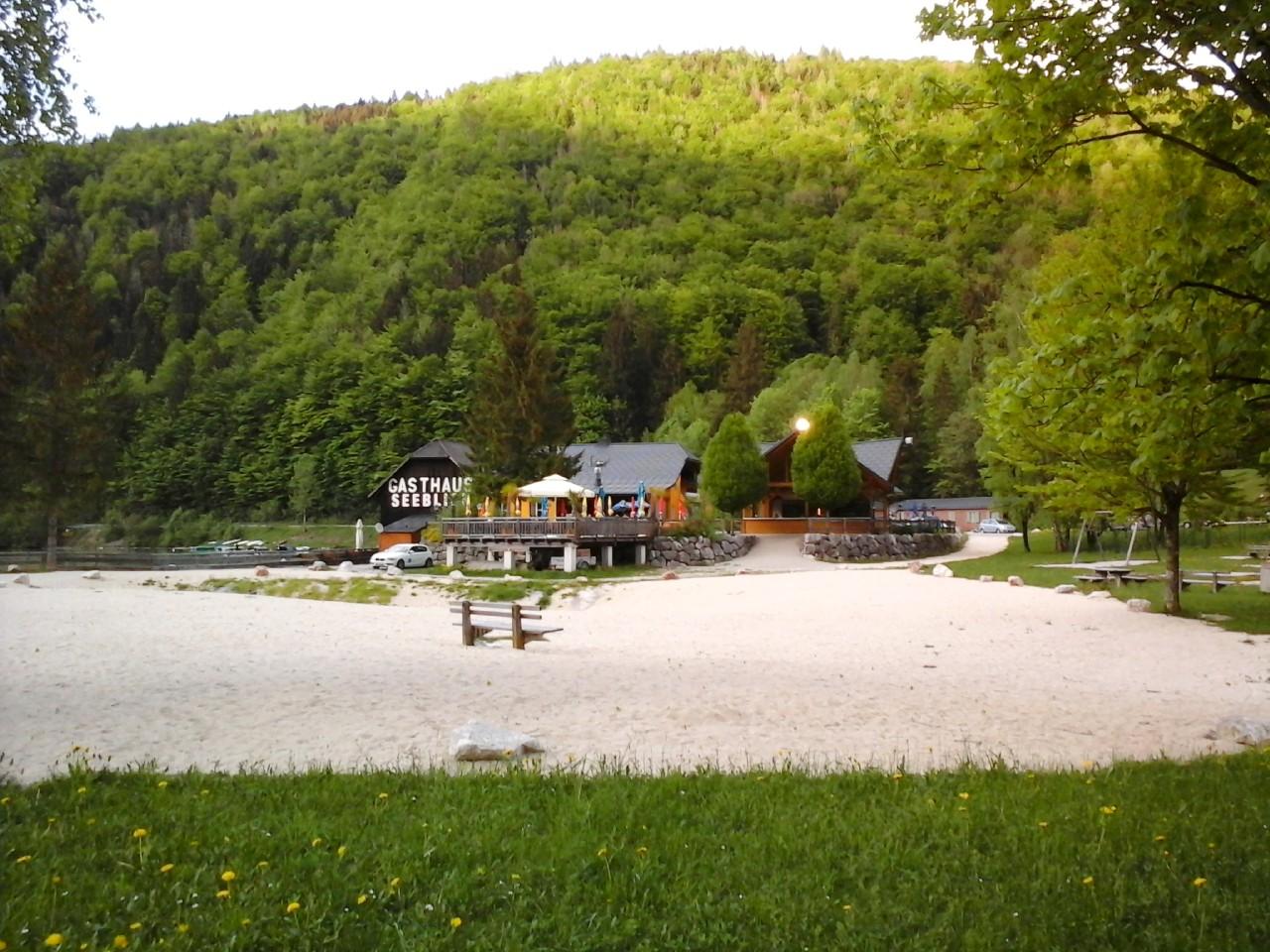 Bootshaus am Stausee Klaus